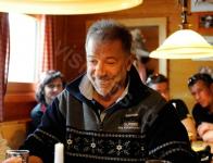 Польдль Грубер, хозяин лучшего на горе ресторана и добрейший человек..