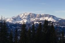 Гора Хохкениг (Hochkoenig) - 2941 м.