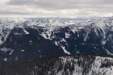 Вид на регион катания Цаухензее (Zauchensee).
