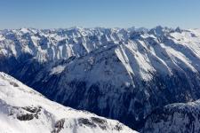 Вид с отметки 3250 м.