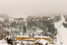 Насфельд. Поселок Sonnenalpe, 1500 м.