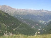 Летний вид на склоны Зельдена из Хохгургля.