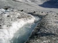 Зельден. Ледник Rettenbach в июле.
