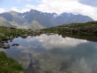 Хохзельден. Озеро в горах.