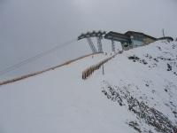 Зельден. Верхняя станция подъемника на Gaislachkogl 3058 м.