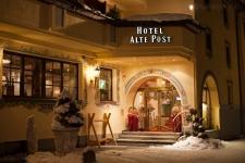 Санкт Антон. Отель Alte Post.