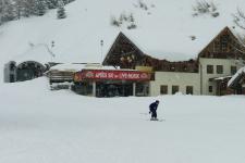 Апре-ски бар на трассе № 1.
