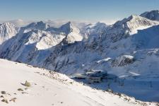 Штубай. Вид с Rotadlkopf, 3011 м