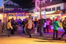 Уличная дискотека в Гармише