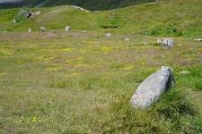 Священные камни эпохи неолита. Перевал Малый Сен-Бернар. Фото: Visitalps.ru