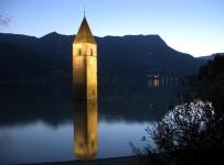 Решенпасс / Наудерс. Lago di Resia
