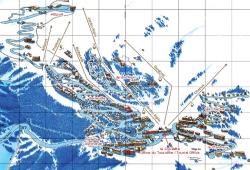 План Куршевеля 1850